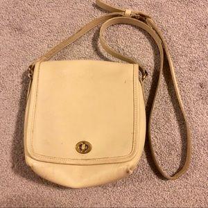 Vintage Coach legacy crossbody purse
